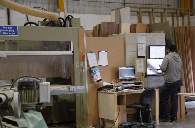 CNC Machine + Operator